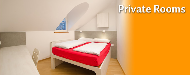 Private Rooms - Hostels Ljubljana